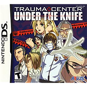 Trauma Center Under the Knife DS Game