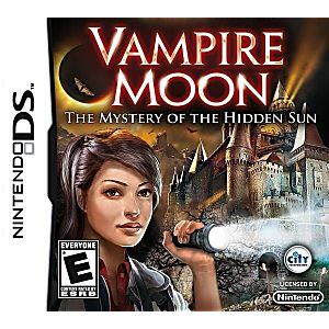 Vampire Moon: The Mystery of the Hidden Sun DS Game