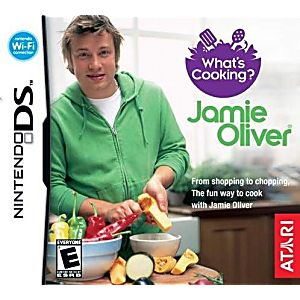 What's Cooking with Jamie Oliver DS Game