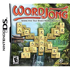 WordJong DS Game