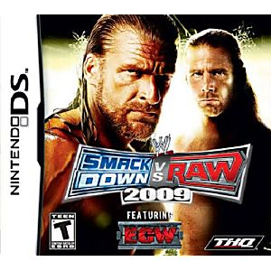 WWE SmackDown vs. Raw 2009 DS Game