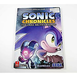 Sonic Chronicles: The Dark Brotherhood Official Game Guide (Prima Games)