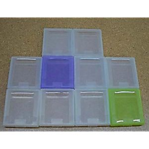 Lot of 10 Game Boy/Color Game Cases