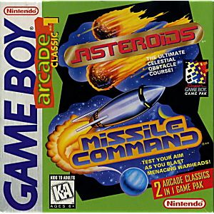 Arcade Classic 1 Asteroids & Missile Command