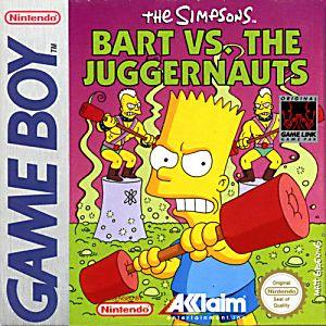 Simpsons Bart vs. the Juggernauts