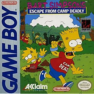 Simpsons Escape from Camp Deadly