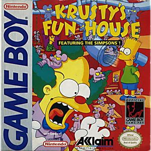 Simpson's Krusty's Funhouse