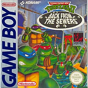 Teenage Mutant Ninja Turtles 2 Ii Game Boy
