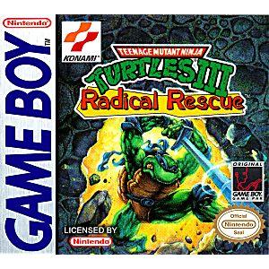 Teenage Mutant Ninja Turtles 3 III