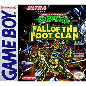Teenage Mutant Ninja Turtles Game Boy