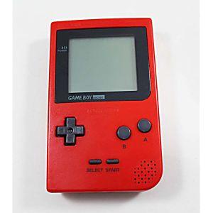 Nintendo Game Boy Pocket Red System