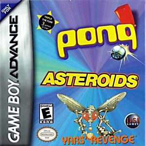 Asteroids / Pong / Yar's Revenge