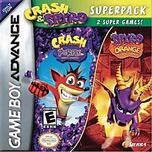 Crash and Spyro Superpack (Purple/Orange)