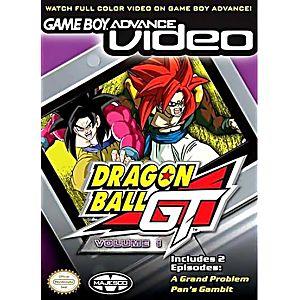 GBA Video Dragon Ball GT Volume 1