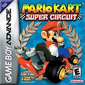 Mario Kart Super Circuit Cartridge