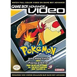 GBA Video Pokemon Johto Photo Finish and Playing with Fire