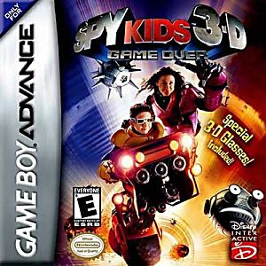 Spy Kids 3D Game Over