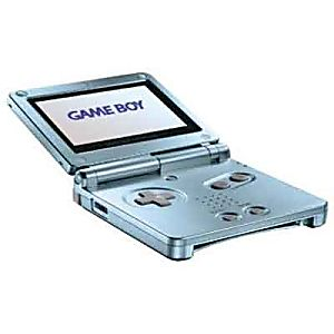 Pearl Blue Game Boy Advance SP Model AGS-101 Backlit System - Discounted