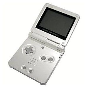 Used Pearl White Game Boy Advance SP System - Discounted