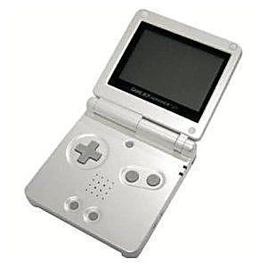 nintendo game boy advance sp pearl white system discounted rh lukiegames com PlayStation 2 Nintendo 64