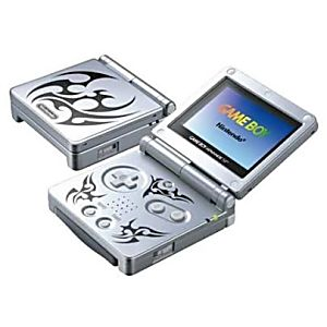 Used Tribal Silver Game Boy Advance SP System - Discounted