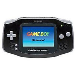 Black Game Boy Advance System