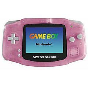 Fuchsia Game Boy Advance System