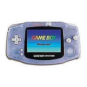 Glacier Game Boy Advance System