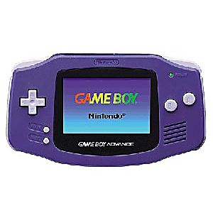 Indigo Game Boy Advance System