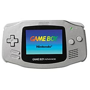 Silver Game Boy Advance System