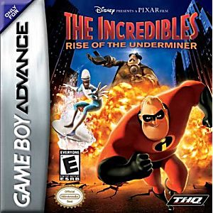 Incredibles Rise of the Underminer