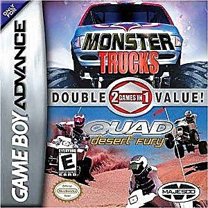 Monster Trucks Quad Fury Double Pack