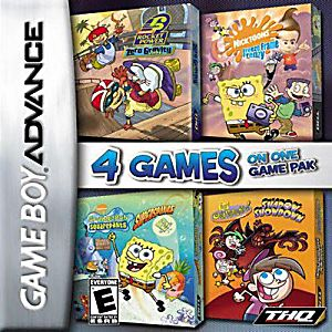 Nickelodeon Four Game Pack