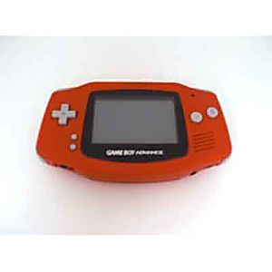 Red Game Boy Advance System