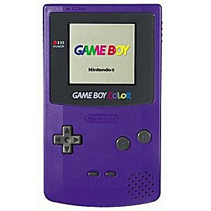 Grape Game Boy Color System