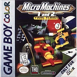 Micro Machines 1&2 Twin Turbo
