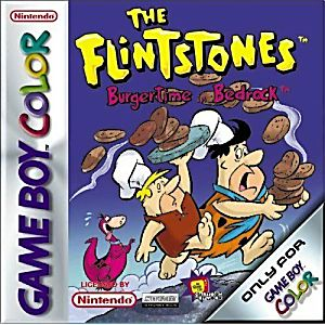 The Flintstones in Burgertime in Bedrock