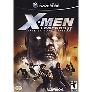 X Men Legends 2 Gamecube Game