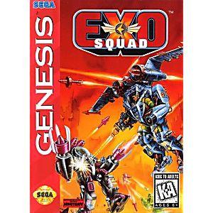 Exo Squad Sega Genesis Game