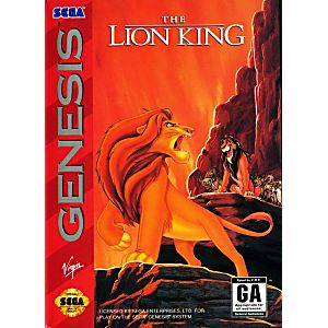 Image result for the lion king sega genesis