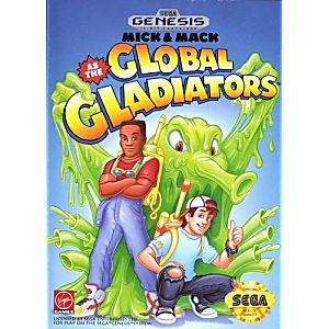 Mick and Mack Global Gladiators
