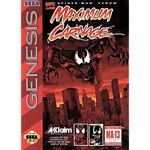 Spider-Man Maximum Carnage