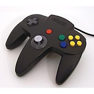Nintendo 64 N64 Black Controller