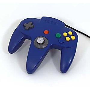 Nintendo 64 N64 Blue Controller