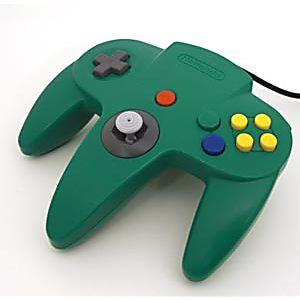 Nintendo 64 N64 Green Controller
