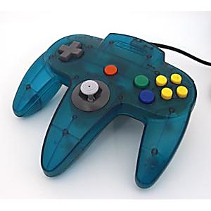 Nintendo 64 N64 Ice Blue Controller