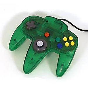 Nintendo 64 N64 Jungle Green Controller