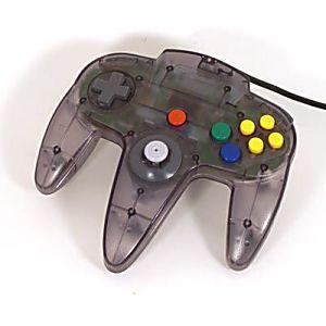 Nintendo 64 N64 Smoke Gray Controller