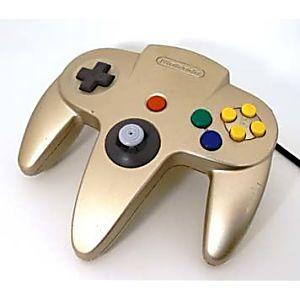 Nintendo 64 N64 Gold Controller