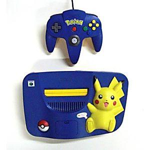 Pokemon Nintendo 64 System